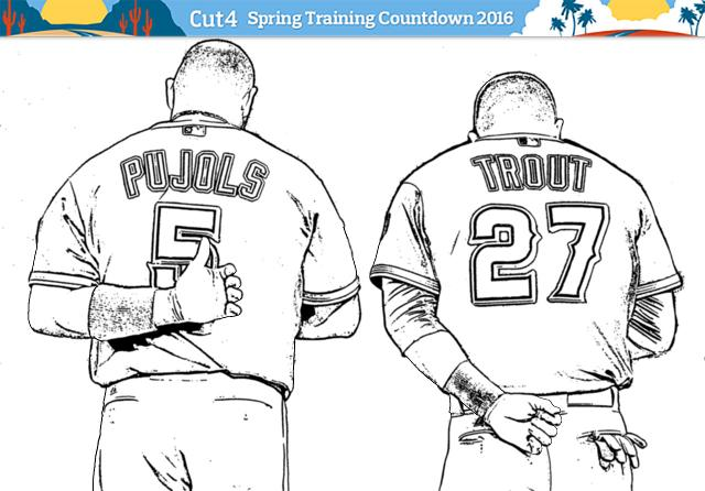 main image - Baseball Coloring Pages Printable