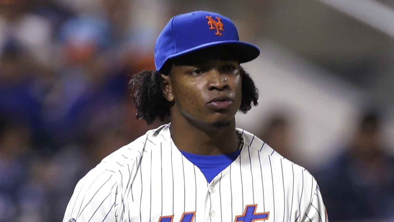 Tight calf leads to Mejia's exit after 12th