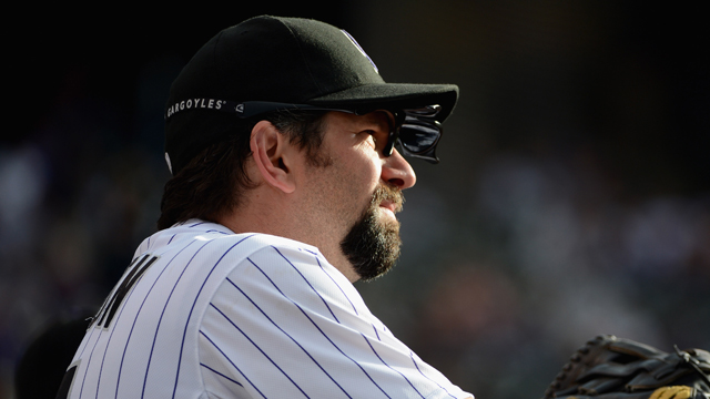 Rockies' Helton arrested, facing DUI charge