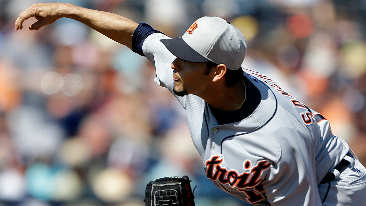 Anibal fans five, Tigers fall short against Yanks