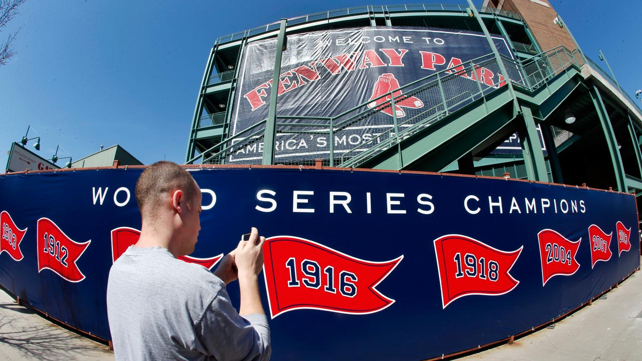 Champs' Fenway return one of eight home openers