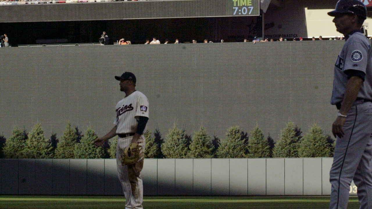 Trees return to Target Field