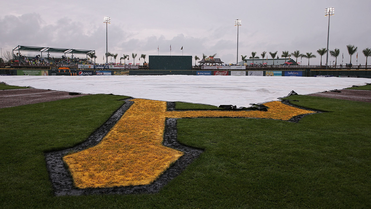 Tigers-Pirates game canceled due to inclement weather