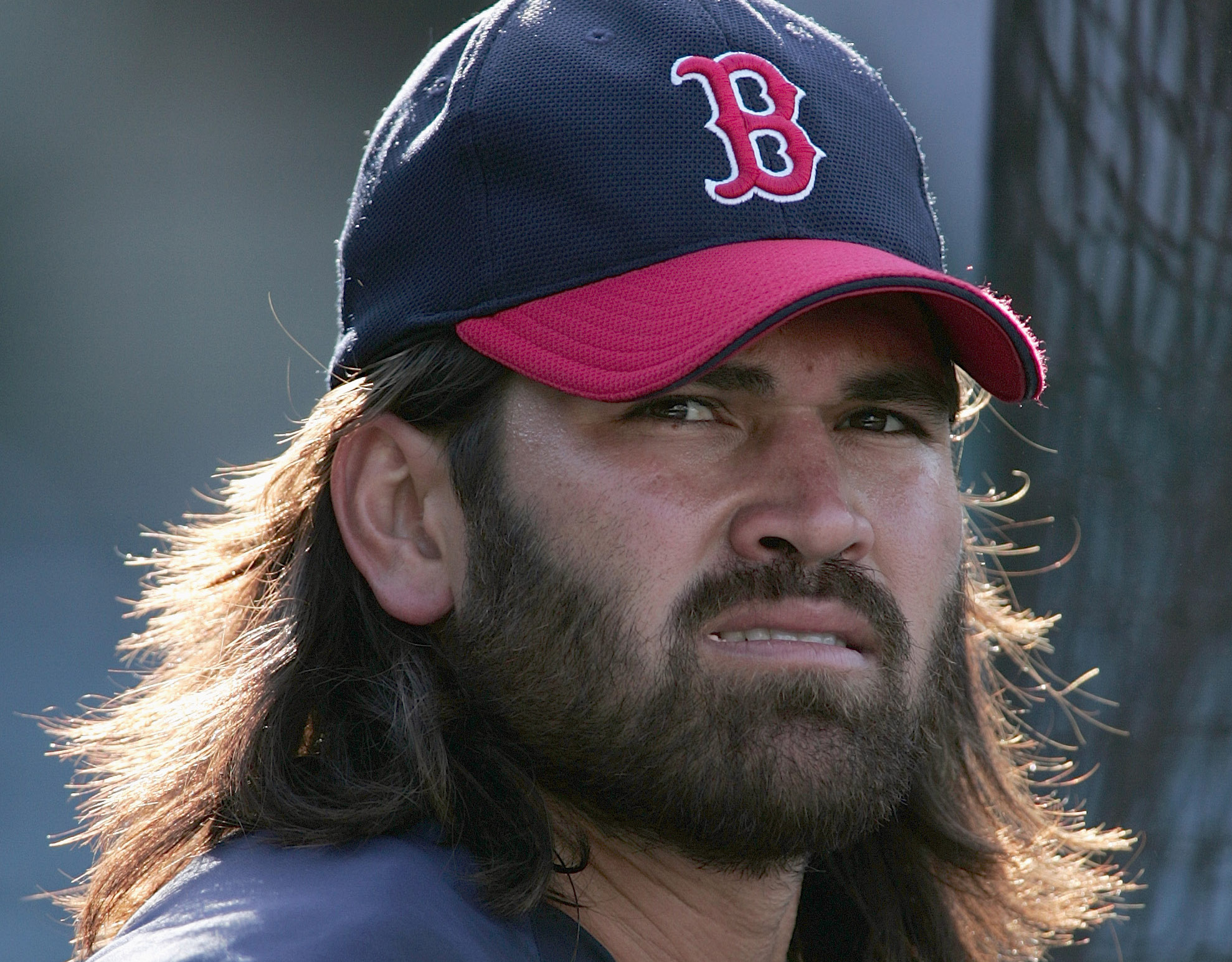 Displaying 17> Images For - Johnny Damon Red Sox 2004...