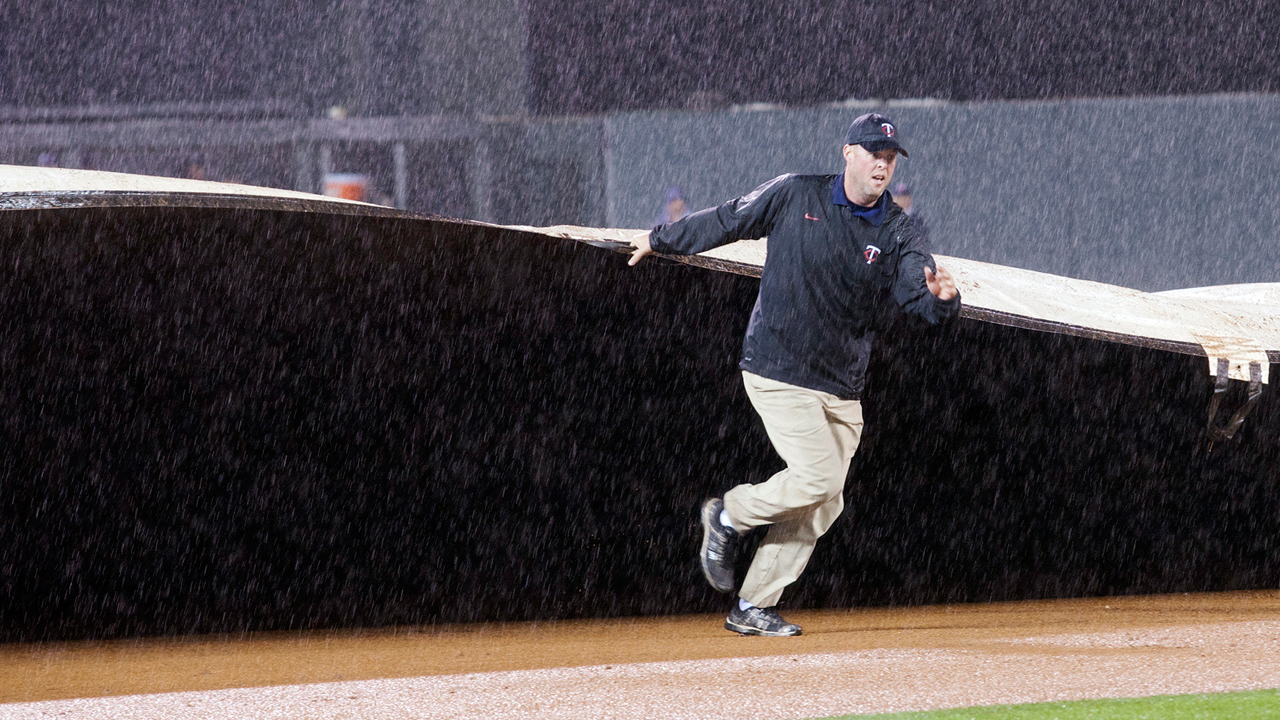 Weather forces postponement of Blue Jays-Twins