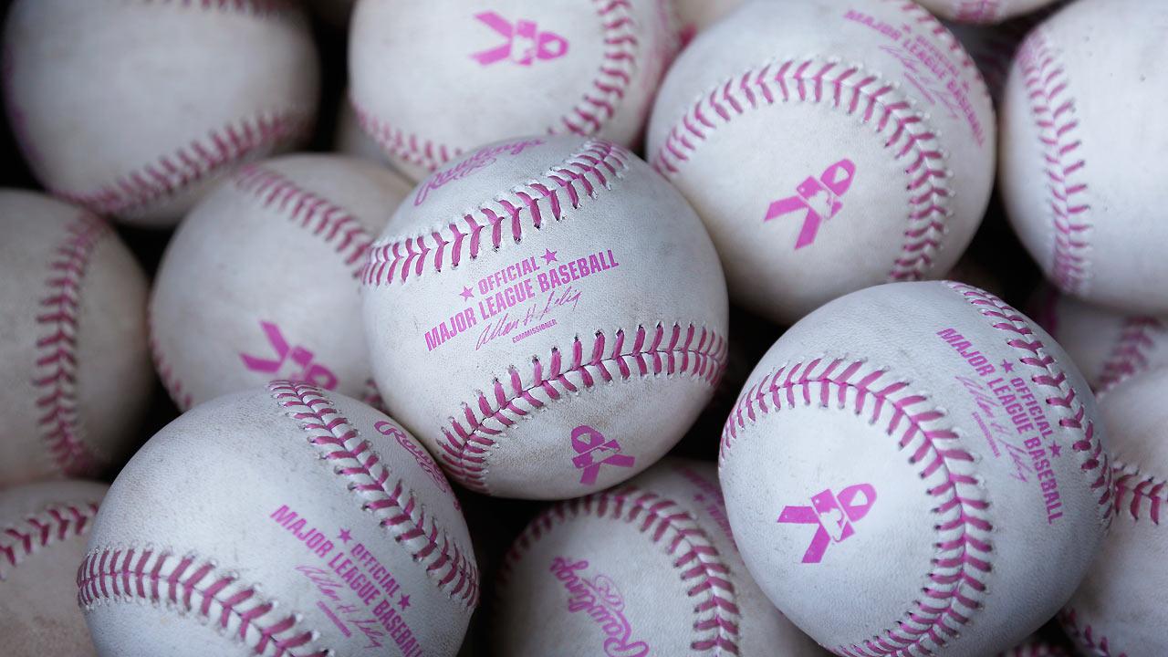 Rangers honor breast cancer survivor