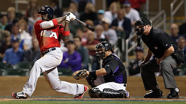 Phillips a spark as Team USA falls to Rockies