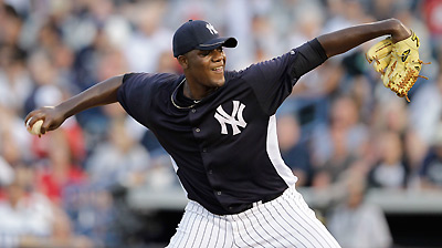 Pineda having tests after bout with shoulder stiffness