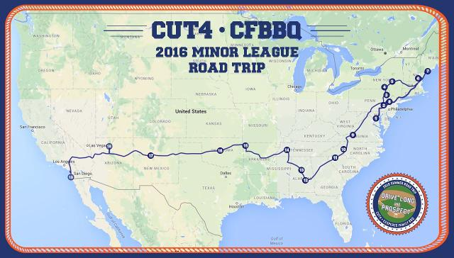Drive Long And Prospect Your Daytoday Guide To The  Cut - Mlb us map