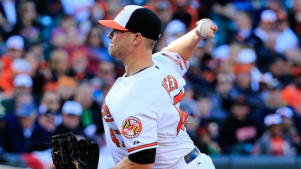 Orioles option Meek to Triple-A Norfolk