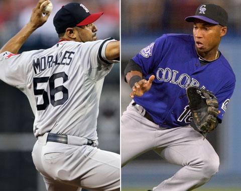 Morales pasa de Medias Rojas a Rockies por Herrera
