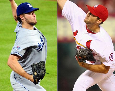 Los Dodgers buscan igualar la SCLN en San Luis