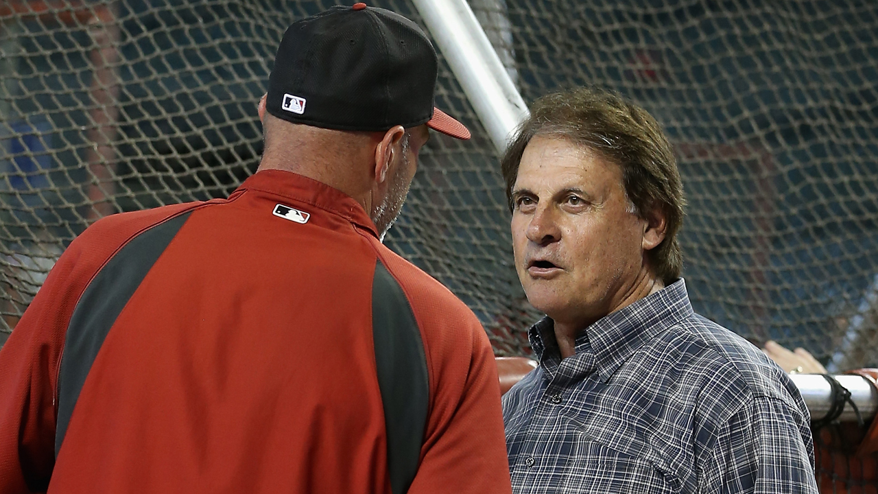 La Russa: Report on Gibson's future inaccurate