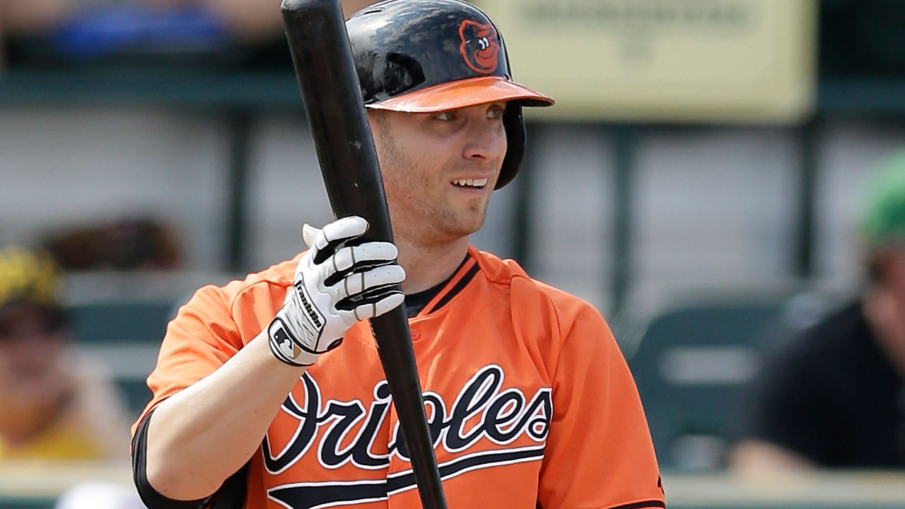 'Two minutes with ...' O's outfielder Nolan Reimold