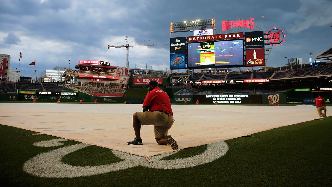 Orioles-Nationals postponed; makeup game is Aug. 4
