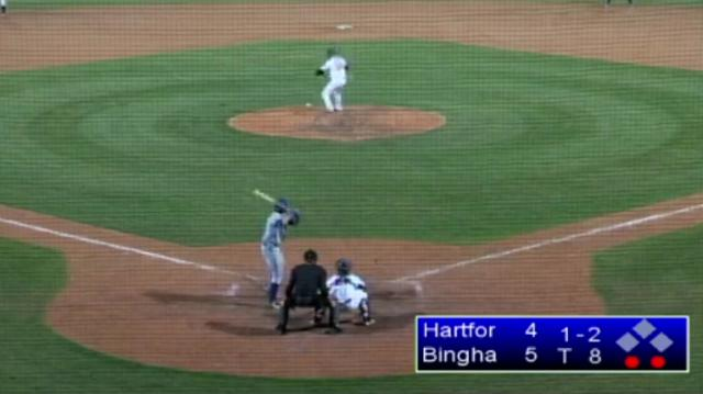Double-A baseball game has perhaps the worst strikeout of all time