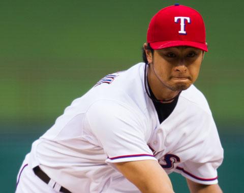 Yu Darvish ingresa a la lista de lesionados de Texas
