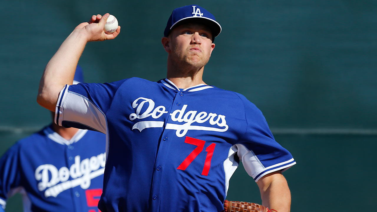 Rosin faces long odds making Dodgers' roster