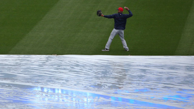 Indians rained out in KC; DH set for Sunday