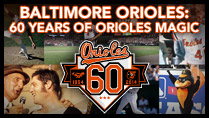 60 Years of Orioles Magic Book