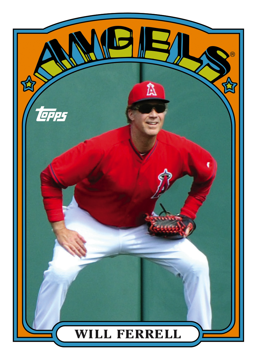 See All 10 Topps Cards Commemorating Will Ferrell Mlbcom