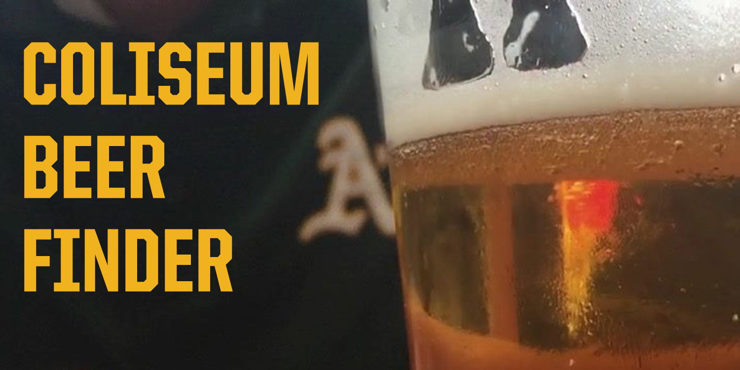Coliseum Beer Finder