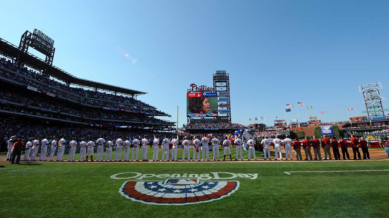Through the years: Phillies' season openers