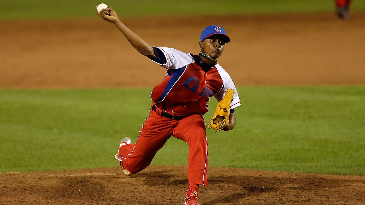 No deal close with Cuban pitcher Iglesias