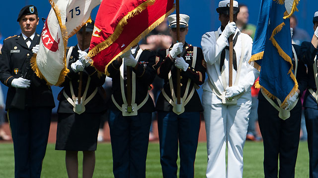 Mets to honor military on Sunday