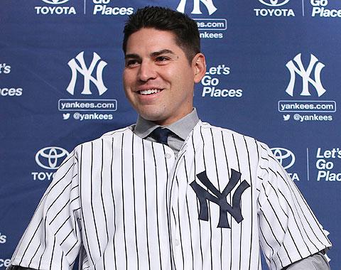 Ellsbury fue presentado por los Yankees en el Bronx
