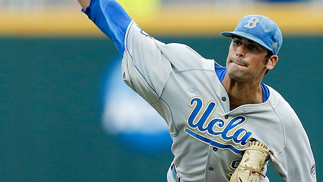 UCLA claims first game of CWS finals at Omaha
