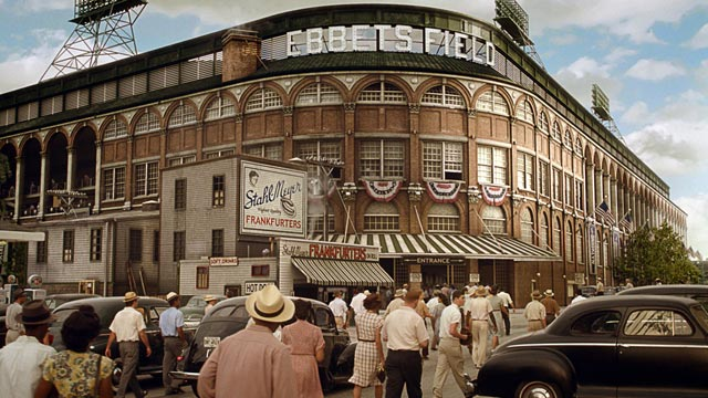 Long gone, Ebbets Field continues to live on in lore