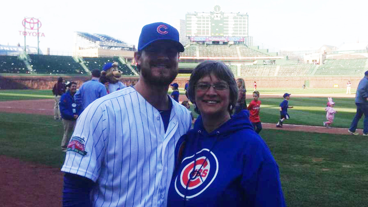 Grimm thankful for mother's timely push