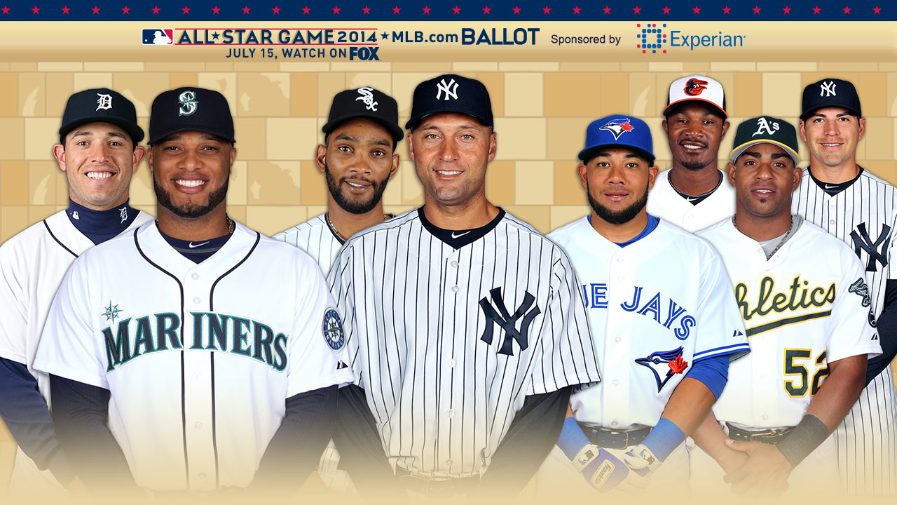 Close races abound in AL All-Star balloting