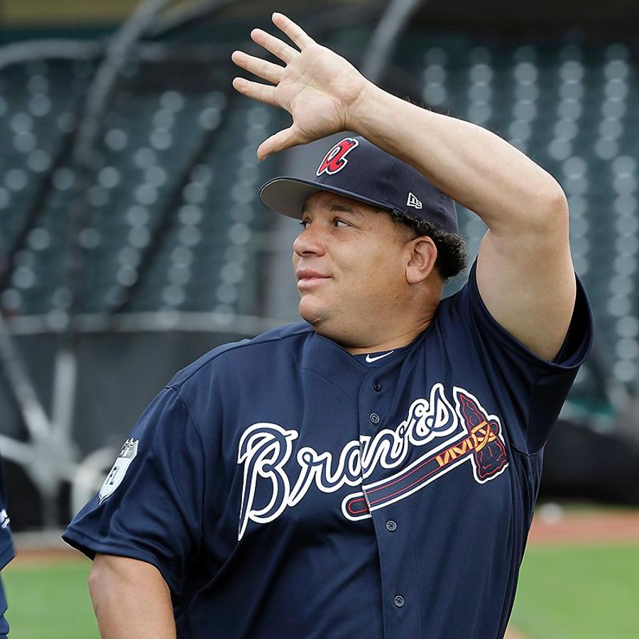 enrich your soul by enjoying the first images of bartolo colon at braves camp mlbcom