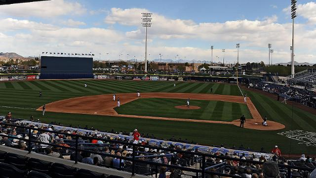 Padres announce schedule for Spring Training