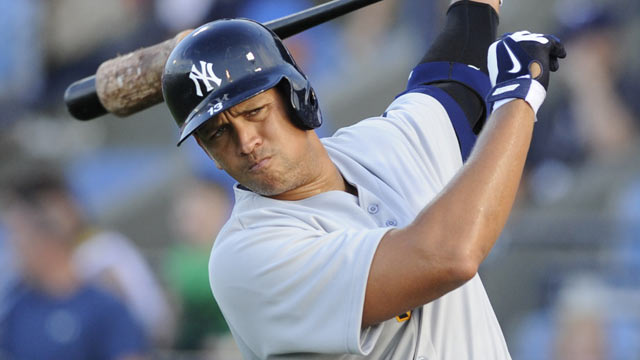 A-Rod homers in first rehab game at Double-A