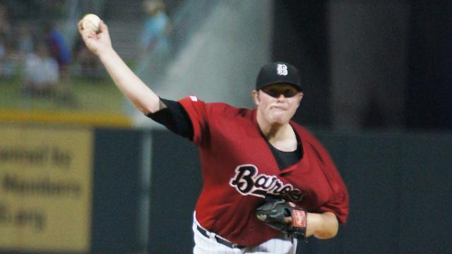 McCray earns AFL honors after four perfect frames