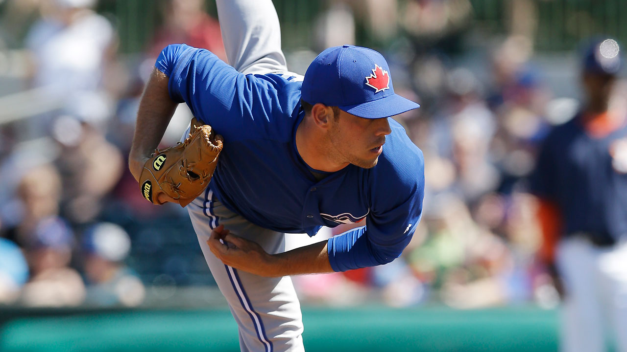 Nolin has bumpy start against Blue Jays' foes