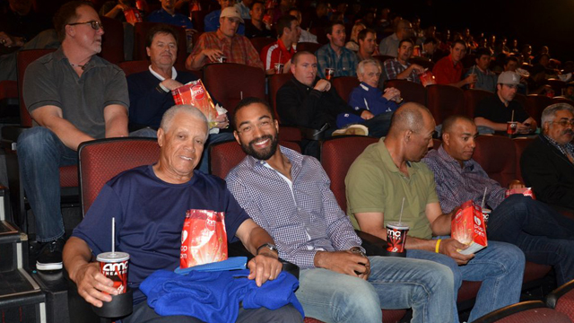 Dodgers celebrate Jackie's legacy at '42' screening
