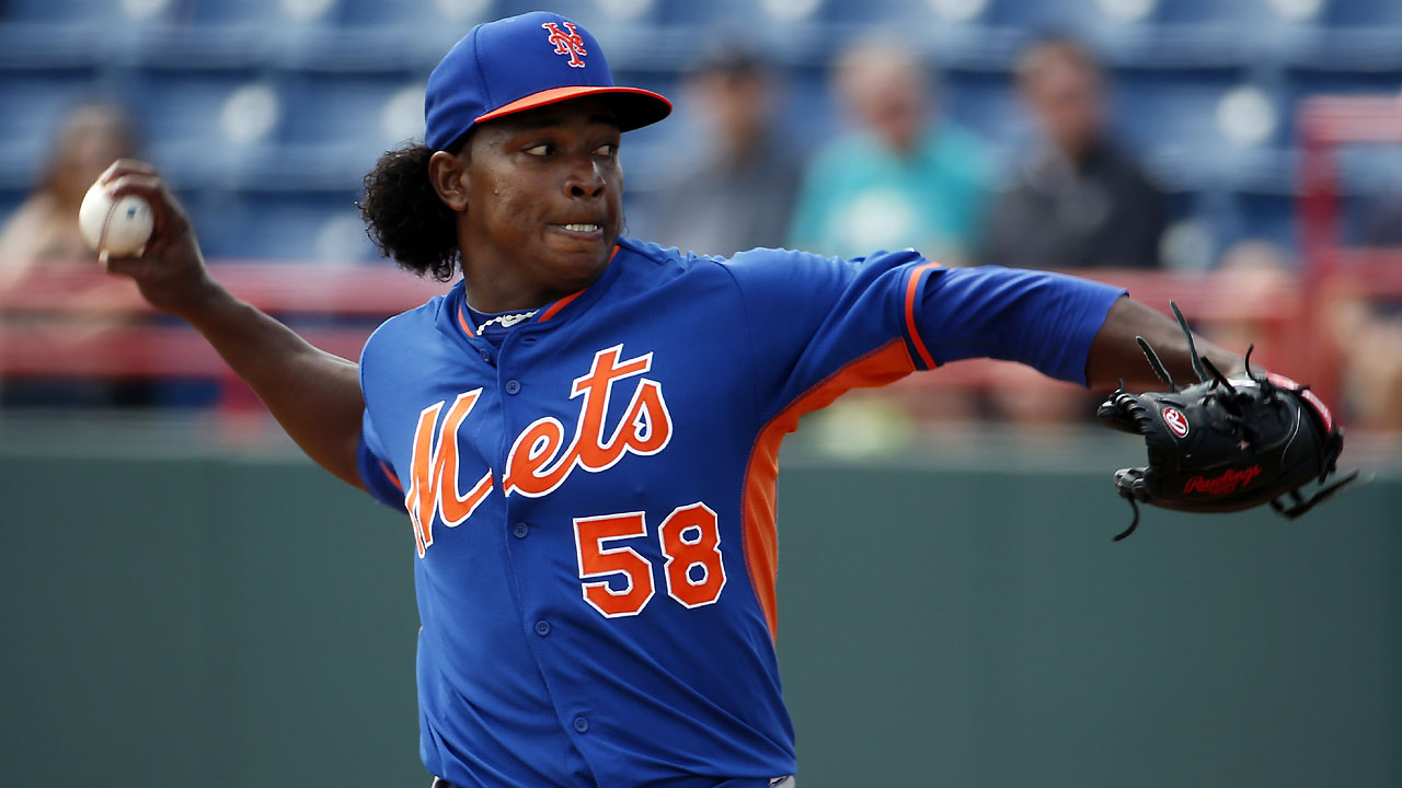 Mejia fans three in start against Nationals