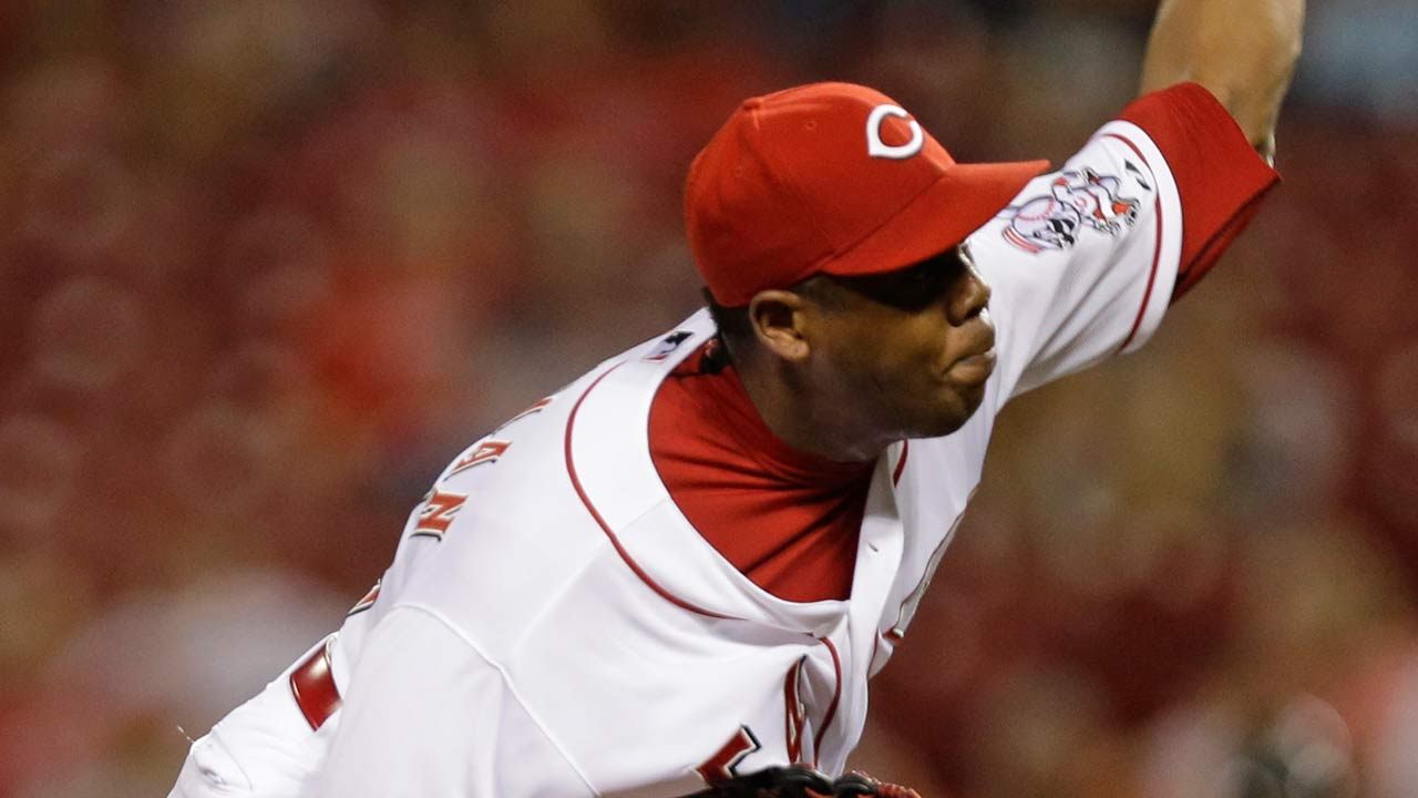Chapman's return a bright spot for Reds