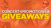 CONCERTS PROMOTIONS AND GIVEAWAYS