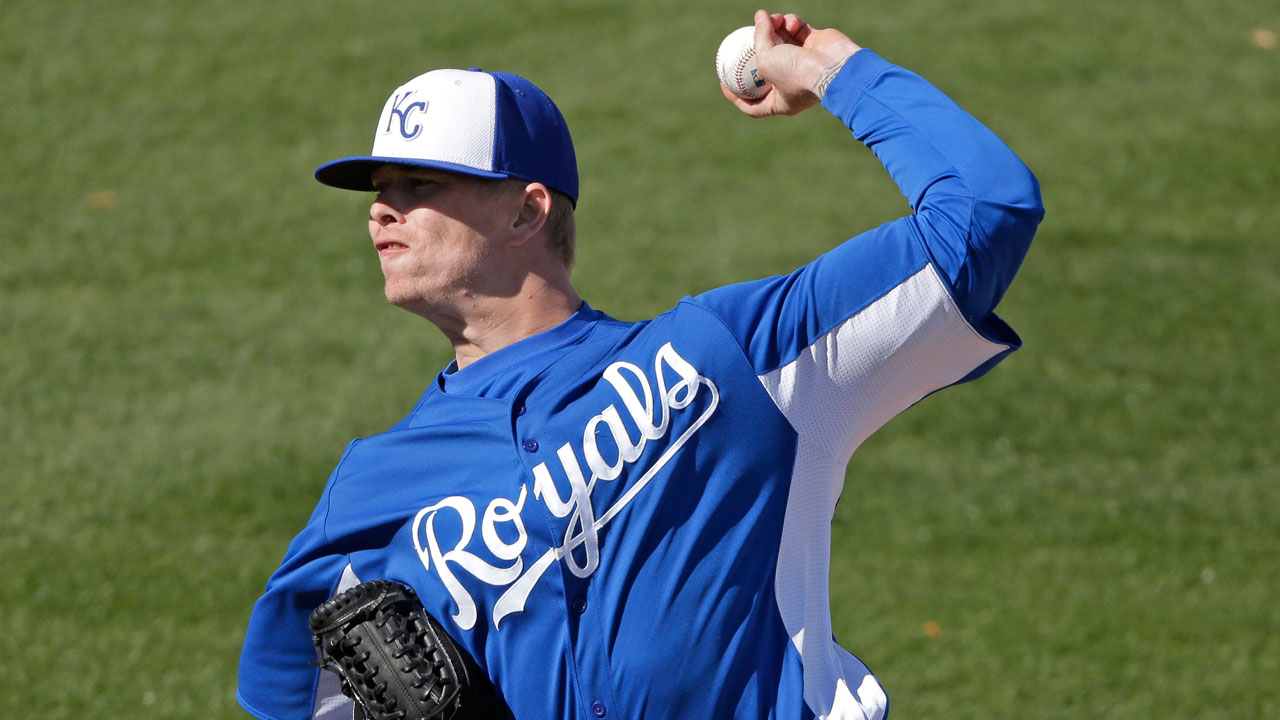 Full speed ahead for Royals southpaw Lamb