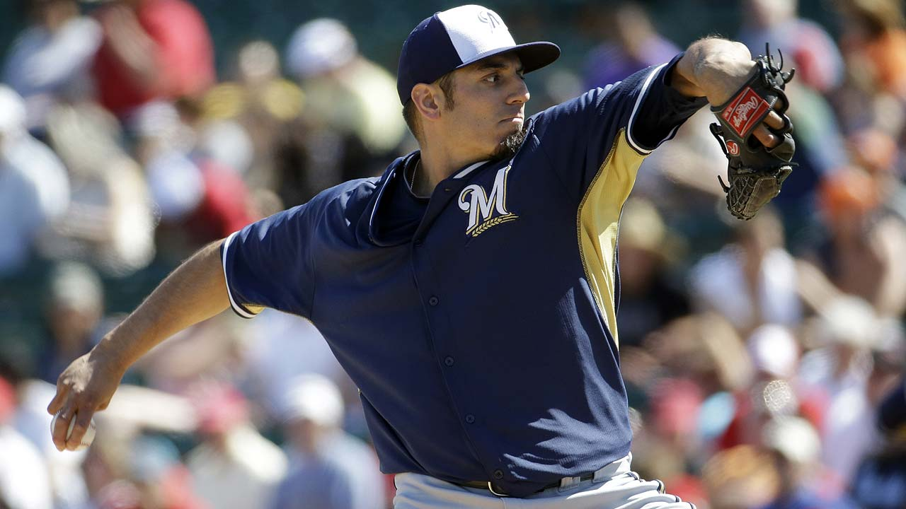 Garza knocked around in loss to Angels
