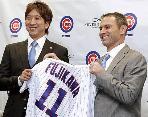 Fue presentado Fujikawa por los Cachorros