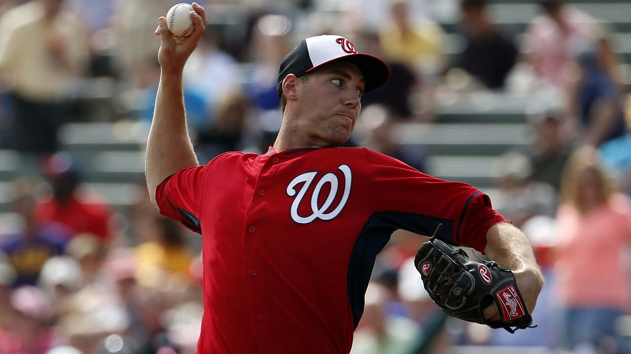 Nats encouraging Jordan to use fastball more
