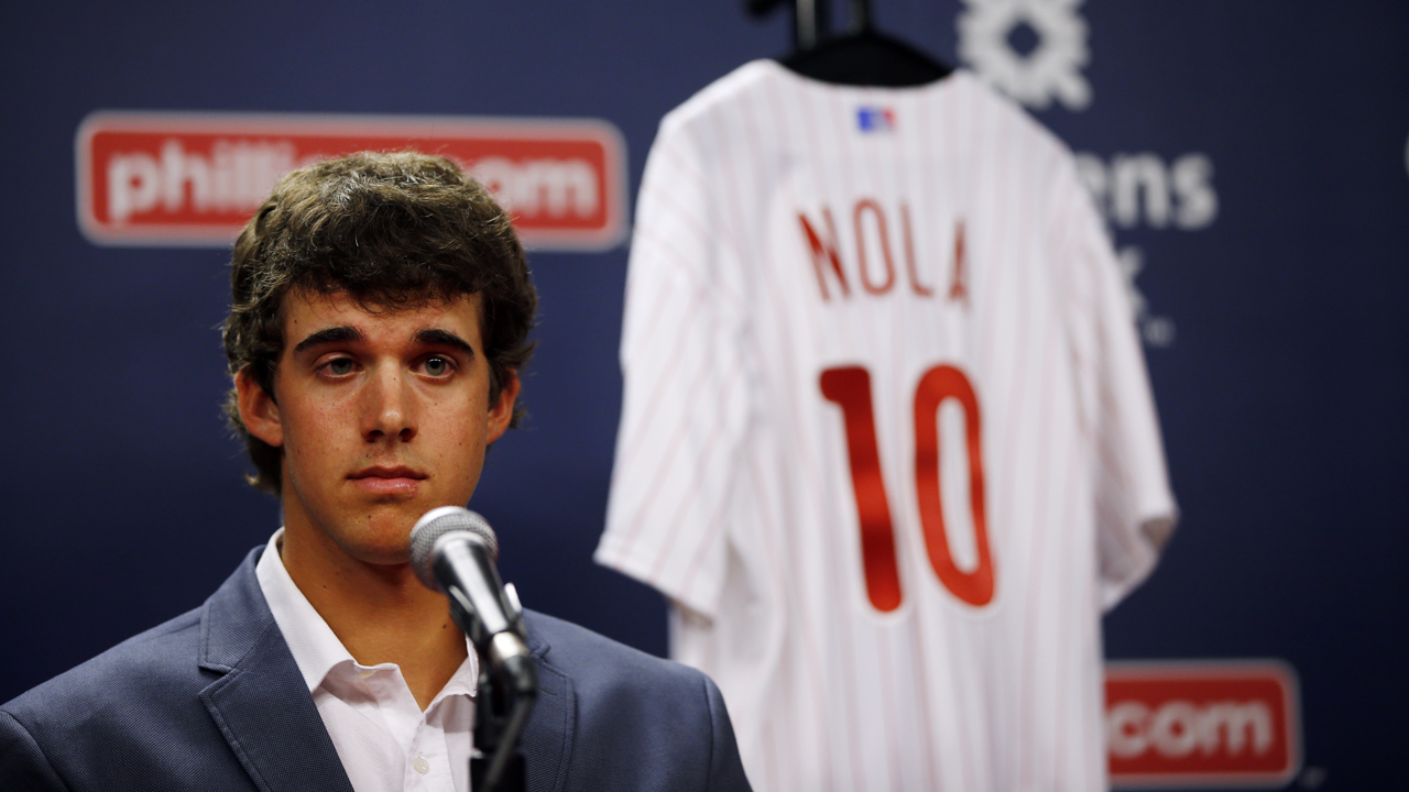 Aaron Nola, Phillies' top Draft pick, poised for ...