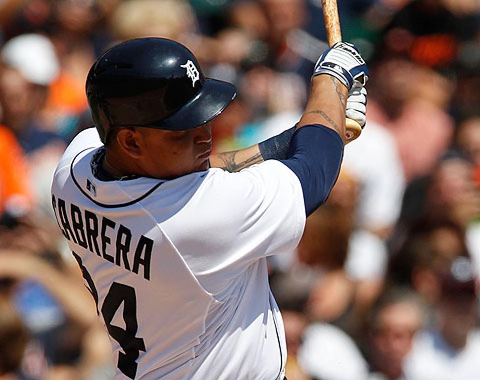 Miguel Cabrera se lesiona en juego contra Mellizos