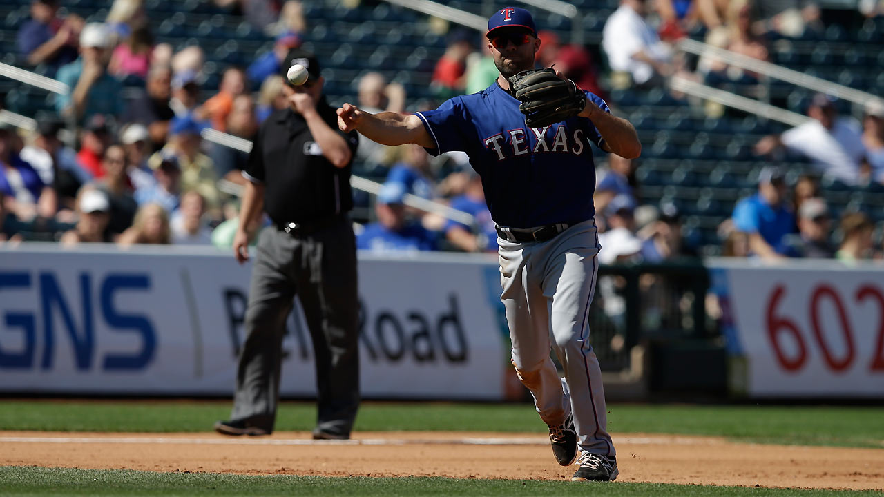 Kouzmanoff's three-run homer powers Rangers
